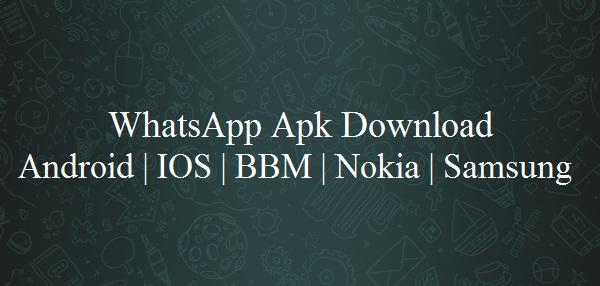 Whatsapp APK Download Whatsapp For Mobile