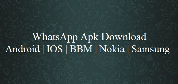 Whatsapp APK Download Whatsapp For Mobile