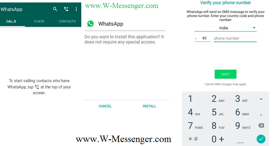 Whatsapp Install