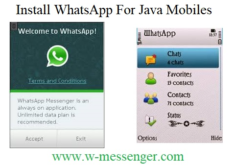 Download Whatsapp for java mobiles